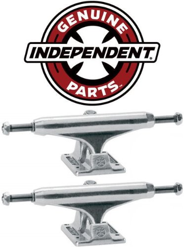 INDEPENDENT Skateboard Trucks 129mm Silver Raw STAGE 11 7 ...